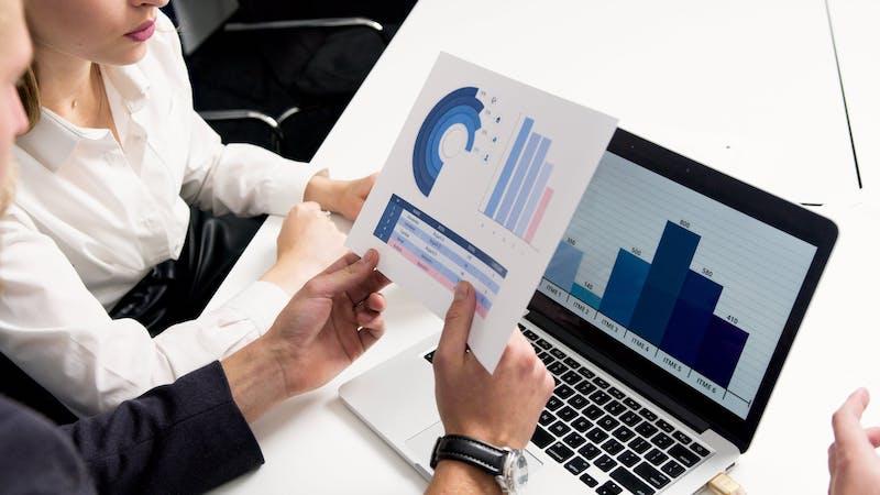 analisi di grafici - liquidità aziendale
