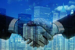 stretta di mano - partnership gold la tesoreria progres informatica